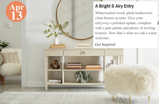 A Bright & Airy Entry
