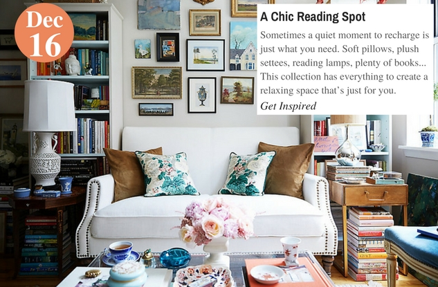 A Chic Reading Spot