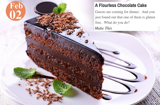 A Flourless Chocolate Cake