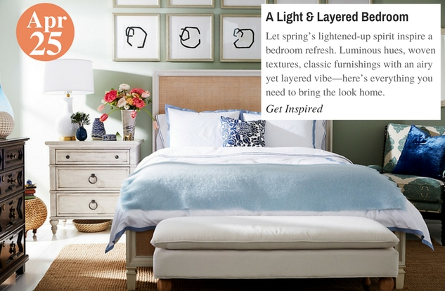 A Light & Layered Bedroom