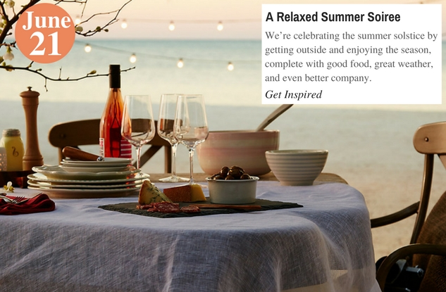 A Relaxed Summer Soiree