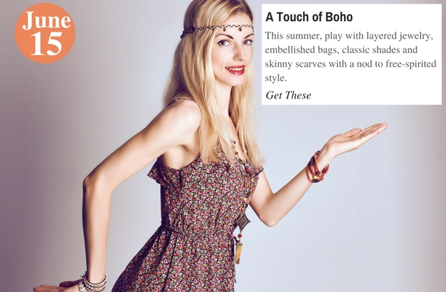 A Touch of Boho