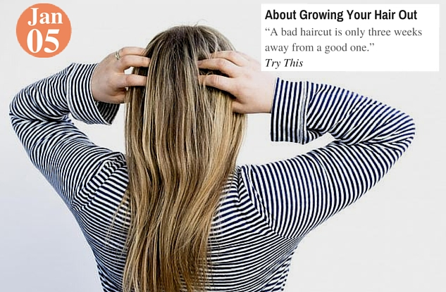 About Growing Your Hair Out