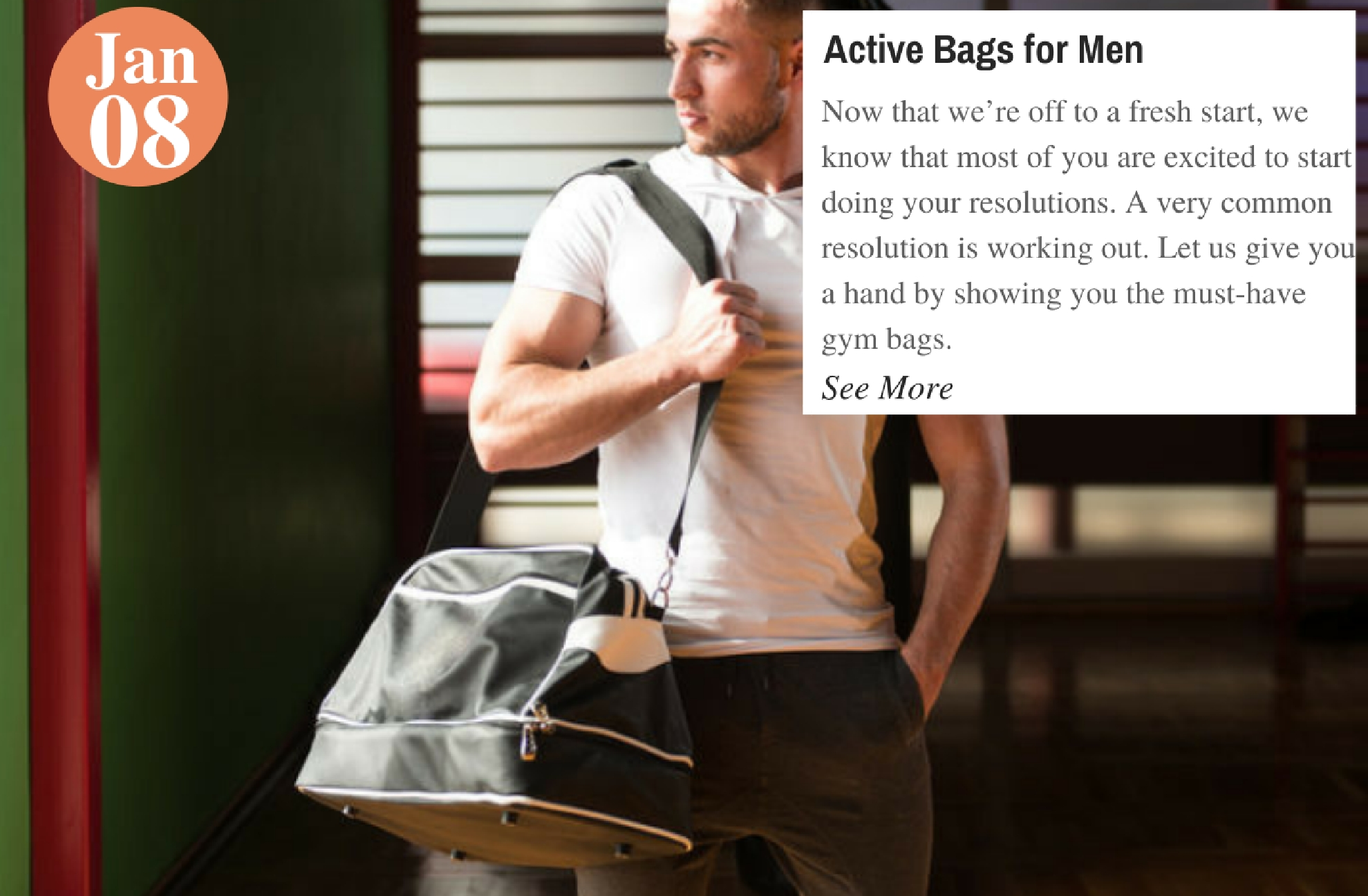 Active Bags for Men