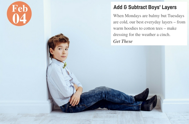 Add & Subtract Boys' Layers