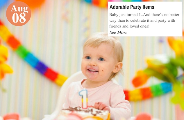 Adorable Party Items