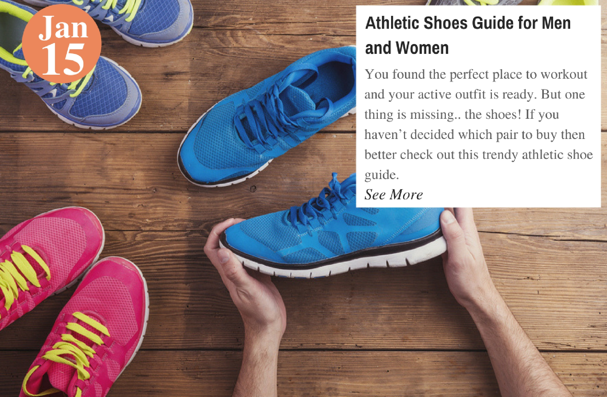 Athletic Shoes Guide for Men and Women