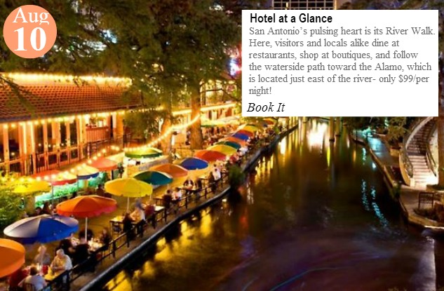 August10-hotel at a glance