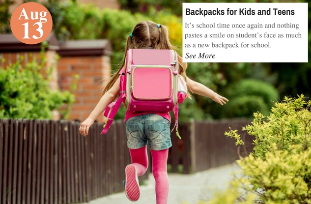 Backpacks for Kids and Teens