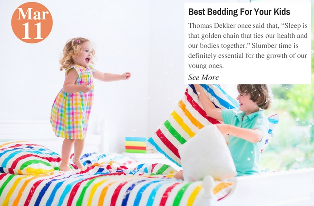 Best Bedding For Your Kids