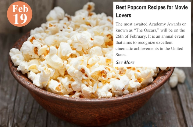 Best Popcorn Recipes for Movie Lovers