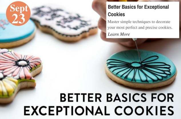 Better Basics for Exceptional Cookies