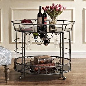 Bombay Heritage Naples Serving Cart