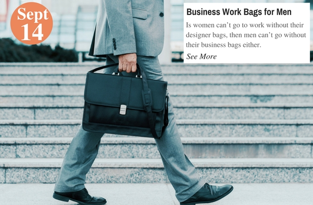 Business Work Bags for Men