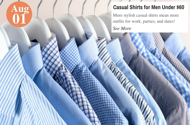Casual Shirts for Men Under $60