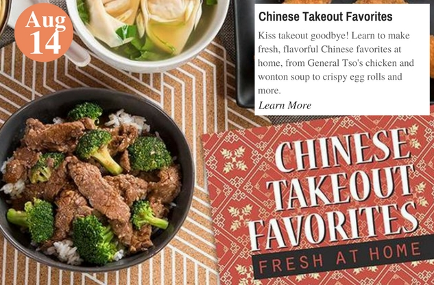 Chinese Takeout Favorites