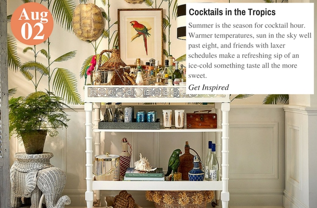Cocktails in the Tropics