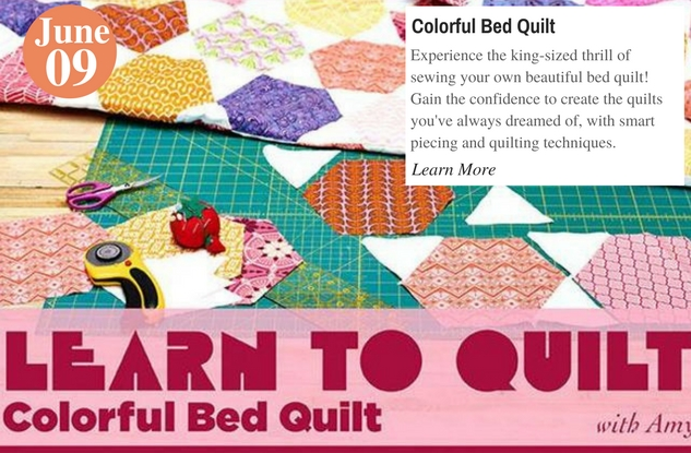 Colorful Bed Quilt