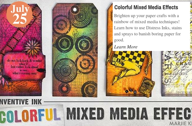 Colorful Mixed Media Effects