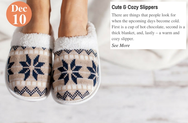 Cute & Cozy Slippers