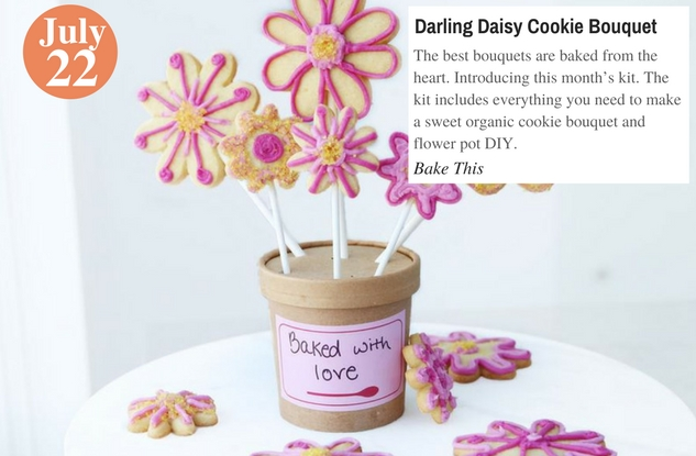 Darling Daisy Cookie Bouquet