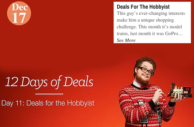 Deals For The Hobbyist