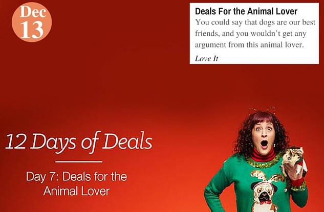 Deals For the Animal Lover