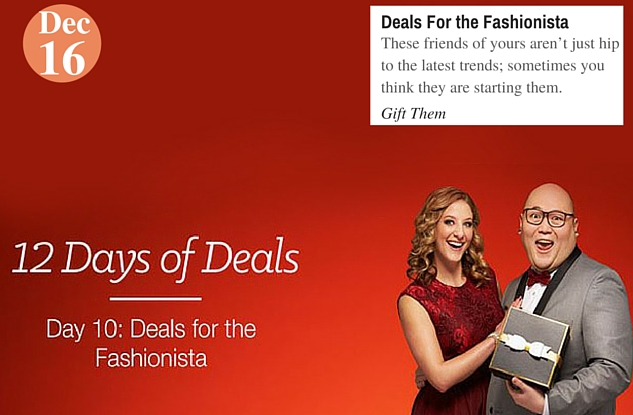 Deals For the Fashionista