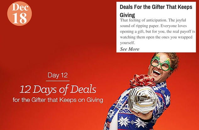 Deals For the Gifter That Keeps Giving