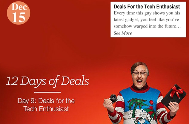 Deals For the Tech Enthusiast