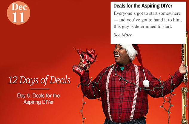 Deals for the Aspiring DIYer