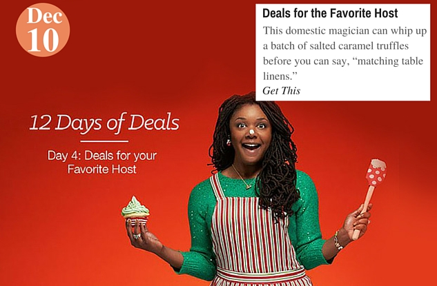 Deals for the Favorite Host