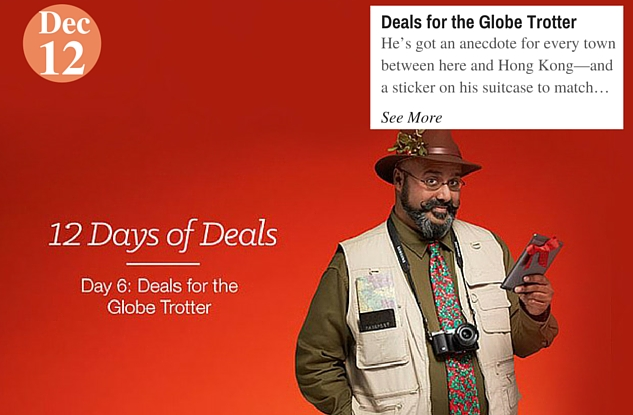 Deals for the Globe Trotter