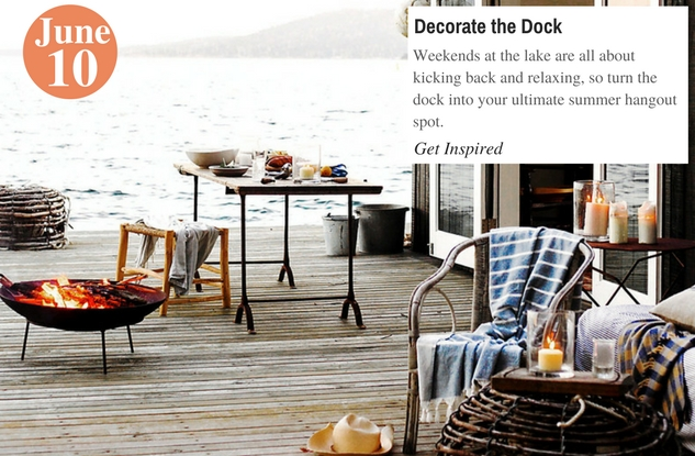 Decorate the Dock