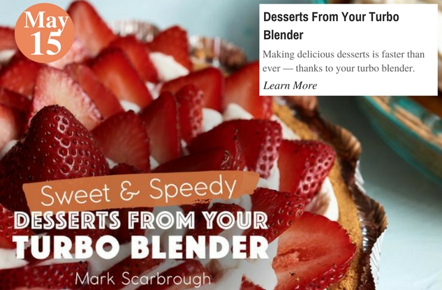 Desserts From Your Turbo Blender
