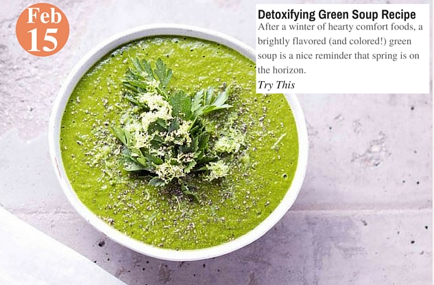 Detoxifying Green Soup Recipe
