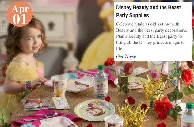 Disney Beauty and the Beast Party Supplies
