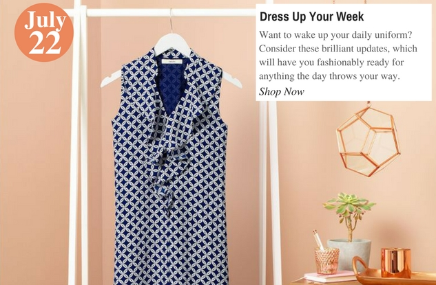 Dress Up Your Week
