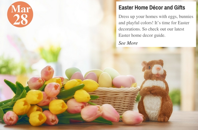 Easter Home Décor and Gifts