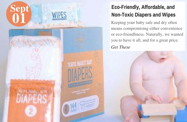 Eco-Friendly, Affordable, and Non-Toxic Diapers and Wipes