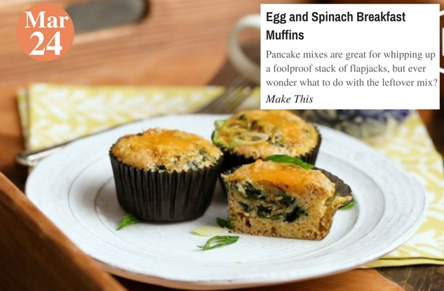 Egg and Spinach Breakfast Muffins