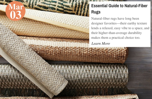 Essential Guide to Natural-Fiber Rugs