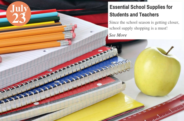 Essential School Supplies for Students and Teachers