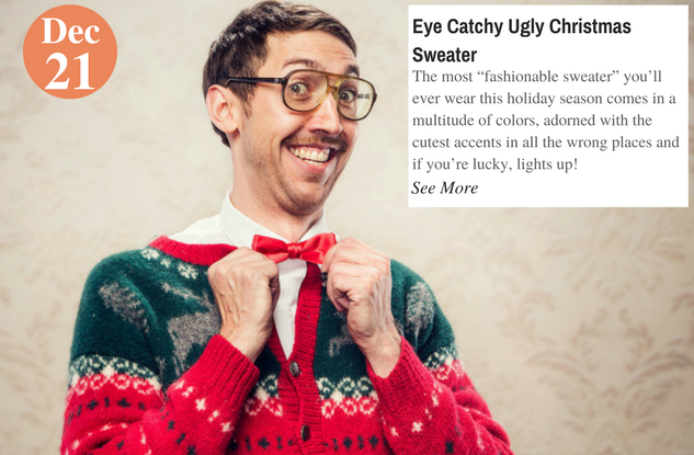 Eye Catchy Ugly Christmas Sweater