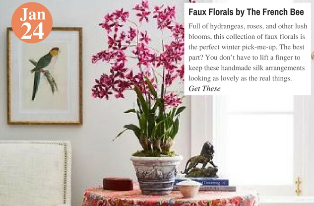 Faux Florals by The French Bee