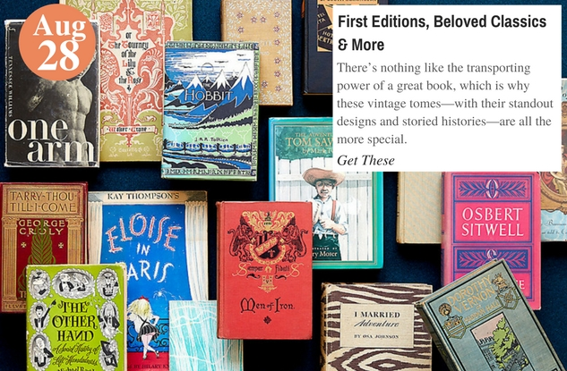 First Editions, Beloved Classics & More