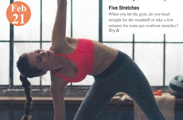 Five Stretches