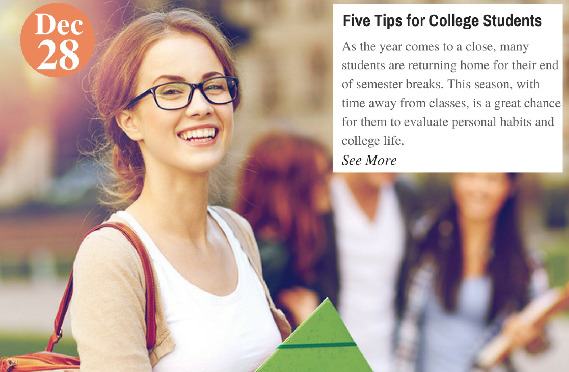 Five Tips for College Students