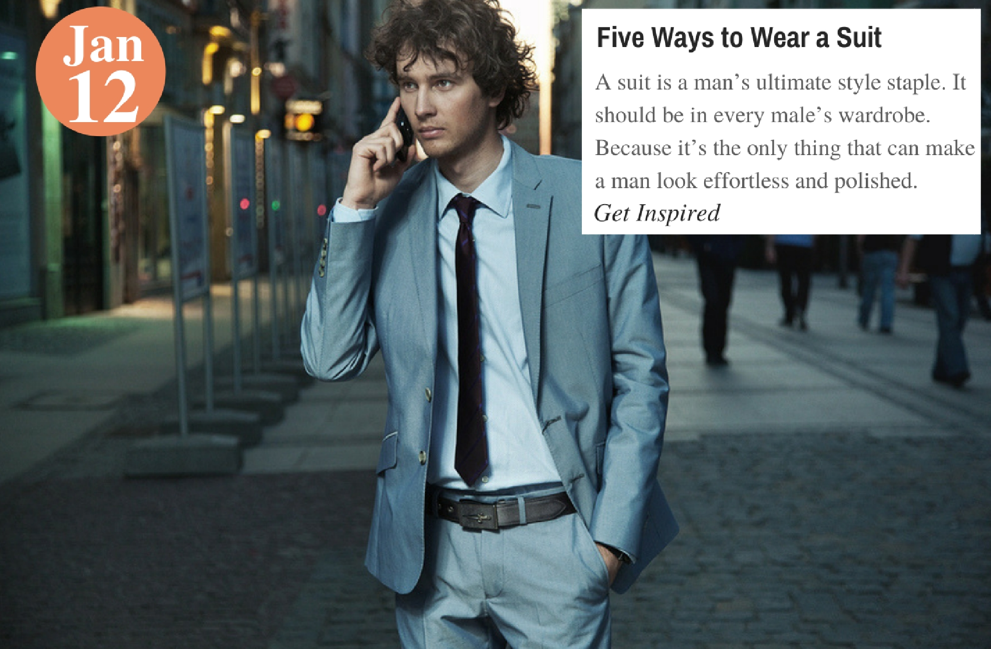 Five Ways to Wear a Suit