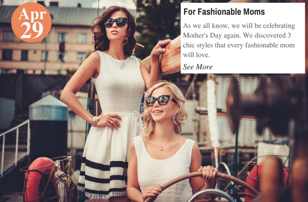 For Fashionable Moms